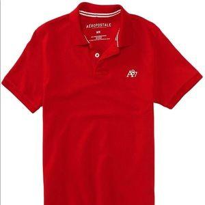 Red Aeropostale Polo